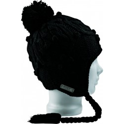 CHLOE EARFLAP / TRUE BLACK
