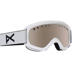 Gogle snowboardowe ANON HELIX / SPARE LENS / WHITE / SILVER AMBER