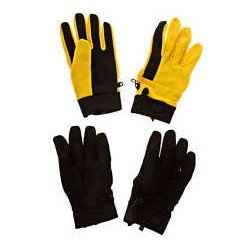 AG CORRAL GLOVE 2PK / CORP YELLOW / TRUE BLACK