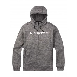 OAK FULL-ZIP / MONUMENT HEATHER