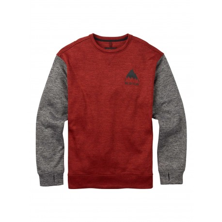 OAK CREW / TANDORI HEATHER
