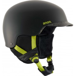 Kask snowboardowy ANON BLITZ / CRACKED BLACK