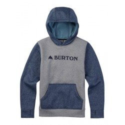 BOYS OAK PULLOVER / SHADE HEATHER / MOUNTAINEER HEATHER