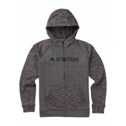 Bluza snowboardowa BURTON BOYS OAK FULL-ZIP / SHADE HEATHER