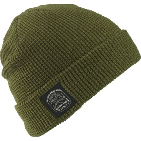 WAFFLE BEANIE / OLIVE BRANCH