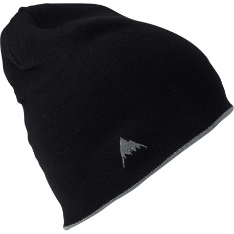 BELLE BEANIE / TRUE BLACK MONUMENT