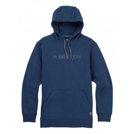 MOUNTAIN HORIZONTAL PULLOVER / INDIGO