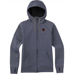 Damska bluza snowboardowa BURTON SCOOP HODDIE / DENIM HEATHER