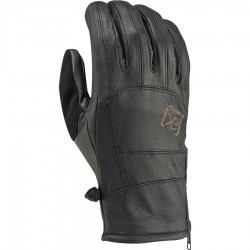 [AK] LEATHER TECH GLOVE / TRUE BLACK
