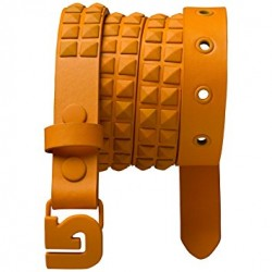 MINI STUDDED BELT / APRICOT