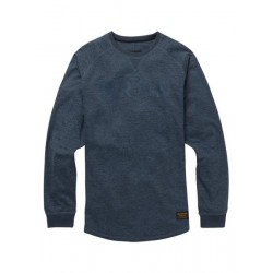 CAPTION CREW / MOOD INDIGO HEATHER