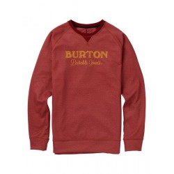 Bluza snowboardowa BURTON CROWN BONDED CREW / SPARROW HEATHER 2019