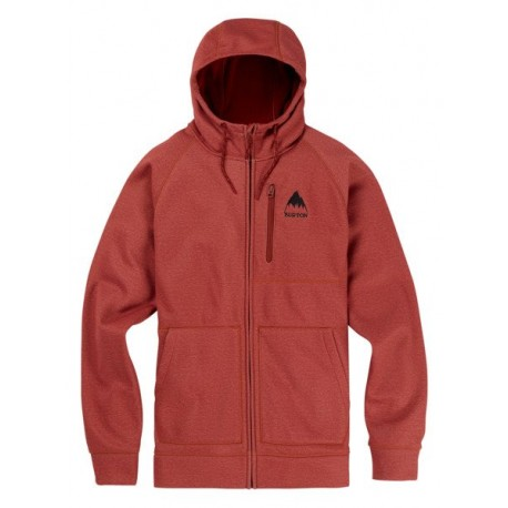 CROWN BONDED FULL- ZIP  / SPARROW HEATHER 2019