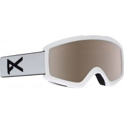 Gogle snowboardowe ANON HELIX 2.0 / WITH SPARE / WHITE / SILVER AMBER