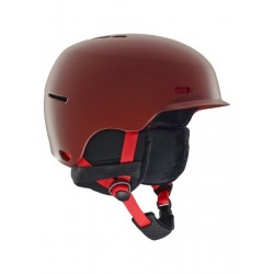 Kask snowboardowy ANON HIGHWIRE / RED 2019