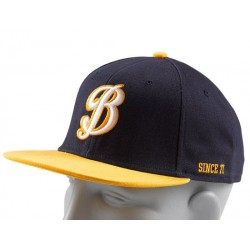 RUSSEL SNAPBACK / NAVY / YELLOW