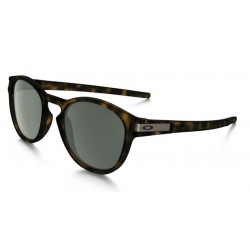OKULARY OAKLEY / LATCH / MATTE BROWN TORTOISE / DARK GREY