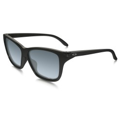 OKULARY OAKLEY/ HOLD ON / POLISHED BLACK / GREY GRADIENT /POLARIZED
