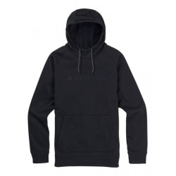 CROWN BONDED PULLOVER / TRUE BLACK