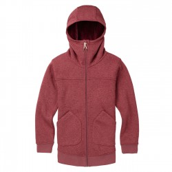 Damska bluza snowboardowa BURTON MINXY / ROSE BROWN HEATHER 2019