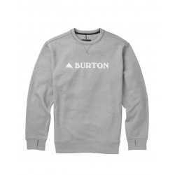 Bluza snowboardowa BURTON OAK CREW / MONUMENT HEATHER 2019
