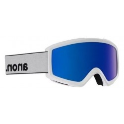 Gogle snowboardowe ANON HELIX 2 SONAR / WITH SPARE / WHITE / SONARIRBLUE 2020