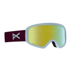Damskie gogle snowboardowe ANON INSIGHT SONAR / WITH SPARE / PURPLE / SONARBRONZE 2019