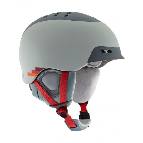 Kask snowboardowy ANON NELSON / VHS GRAY 2019